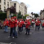 Photo de la Banda'Mi pendant un défilé